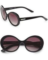 Thierry Mugler - Oval Acetate Sunglasses - Lyst