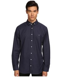 Vivienne Westwood Man Double Button Collar Oxford - Lyst