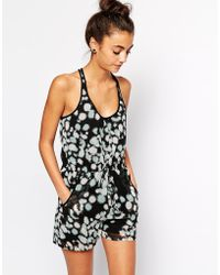 French Connection Isabella Playsuit - Lyst