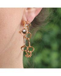 Federica Rettore - Nodi D'Amore Hoop Earrings - Lyst
