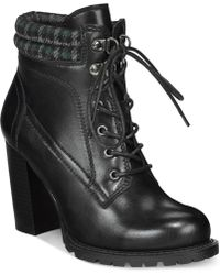 Mojo Moxy - Dolce By Joelle Lace-up Booties - Lyst