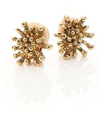 Oscar de la Renta | Starfish Clip-on Stud Earrings | Lyst