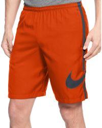 Nike Gpx Side-stripe Shorts - Lyst