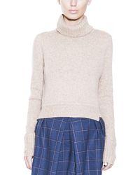 A.L.C. Tevin Crop Sweater - Lyst