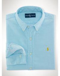 Polo Ralph Lauren Custom-fit Double-faced Shirt - Lyst