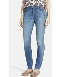 Madewell High Rise Skinny Jeans - Lyst