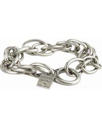 Goti Silver Chain Bracelet - Lyst