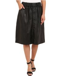 Cheap Monday Flexible Skirt - Lyst