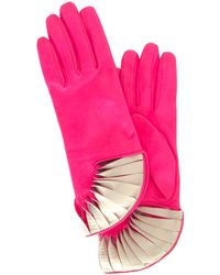 Thomasine Gloves | Paris Glove Sun Fan Wrist Pink | Lyst