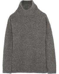 Theory Dreedan Wool Blend Turtleneck Sweater - Lyst