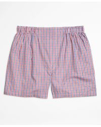Brooks Brothers   Traditional Fit Micro Check Boxers   Lyst