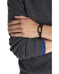 Miansai - Black Double Wrap Rope Bracelet - Lyst