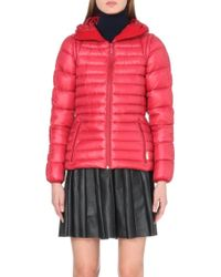 Hunter Hooded Short Quilted Coat - Lyst