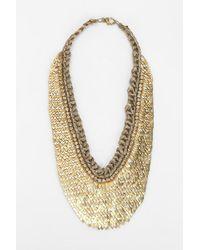 Deepa Gurnani - Scales Bib Necklace - Lyst