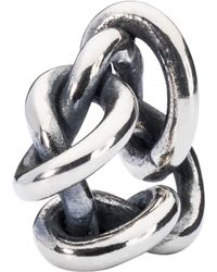 Trollbeads - Sterling Silver Live Love Forgive Charm - Lyst