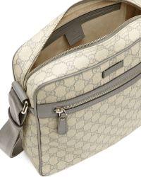 Gucci Gg Supreme Flight Bag - Lyst