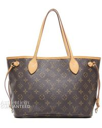Louis Vuitton Preowned Monogram Canvas Neverfull Pm Tote Bag - Lyst
