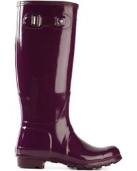Hunter Wellington Boots - Lyst