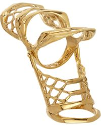 Dominic Jones - Gold Leviathan Ring - Lyst