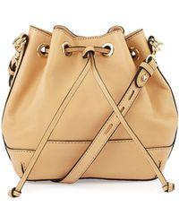 Rebecca Minkoff Fiona Mini Bucket Bag - Lyst