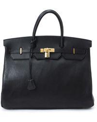 Hermès HermãˆS Black Birkin 40 Handbag black - Lyst