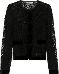 Erdem Victoria Embroidered Lace Jacket - Lyst