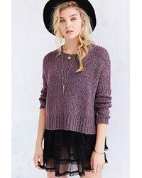 Kimchi Blue - Favorite Boucle Sweater - Lyst