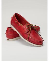 Polo Ralph Lauren Barnard Boat Shoe - Lyst