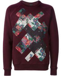 Marc Jacobs | Floral Print Sweatshirt | Lyst