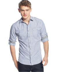 DKNY Striped Shirt - Lyst