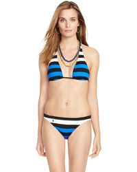 Polo Ralph Lauren | Striped Hipster Bikini Bottom | Lyst