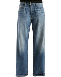 Lucky Brand - 221 Original-fit Straight Blue Gold Jeans - Lyst