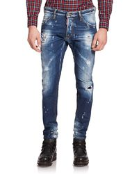 DSquared² Cool Guy Skinny Jeans blue - Lyst