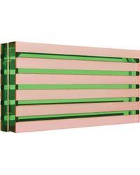 Mary Katrantzou | Large Box Clutch Pink | Lyst