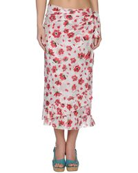 Moschino Red Sarong - Lyst