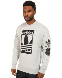 adidas originals street graphic crew