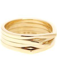 Repossi - Antifer 18kt Yellow Gold Ring - Lyst