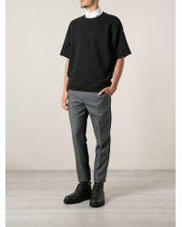 Dolce & Gabbana Contrast Denim Jean Trousers - Lyst