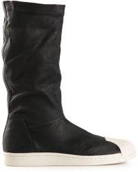 Adidas Superstar Boots - Lyst