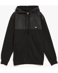 Obey Summit Zip Hooded Jacket - Lyst
