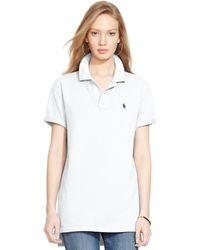 Polo Ralph Lauren Boyfriend Polo Shirt - Lyst