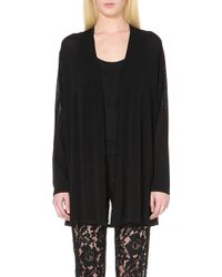 Sandro Fringed Knitted Cardigan - For Women - Lyst