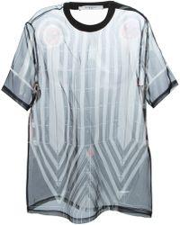 Givenchy Printed Sheer T-Shirt - Lyst