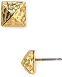 Sam Edelman - Pyramid Stud Post Earrings - Lyst
