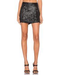 MLV - Justin Sequin Mini Skirt - Lyst
