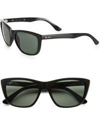 Ray-Ban New Wayfarer Sunglasses black - Lyst