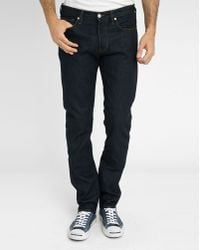 Paul Smith Dark Denim Tapered Jeans - Lyst