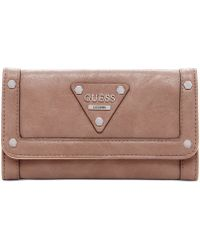 Guess Presley Slim Clutch Wallet - Lyst