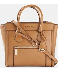 MICHAEL Michael Kors Brown 'Colette' Bag - Lyst