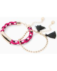 Violeta by Mango - Mixed Bracelet Set - Lyst